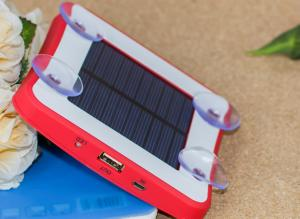 China Solar Window Charger Long Lasting High Capacity Mobile,Portable Window Solar Power Bank,Mobile Phone Solar Panel Charger on sale