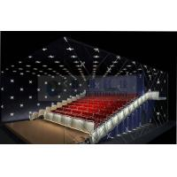 Popular Theme park 3D cinema system , 4D 5D cinema movie theaters with real leather motion chairs