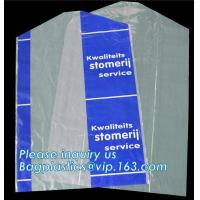 China Disposable Thin Garment Protection Dry Cleaning Bags 100cm long,reusable dry cleaning cheer satin washable garment stora on sale