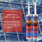 300ml Clear Mastic Sealant , Acrylic Gap Filler For Kitchen Waterproof