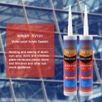 General Purpose Acrylic Construction Adhesive Sealant Waterproof Liquid Glue Type