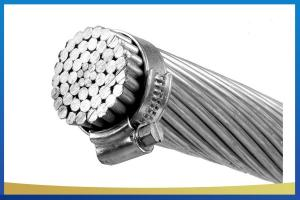 China Steel Reinforced AACSR Conductor , Aluminum Good Conductor Economy Light Weight on sale