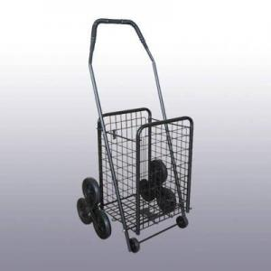 China Deluxe 3 Wheels Stair Climber Grocery Shopping Cart/Trolley on sale