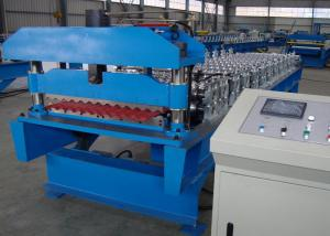 China Galvanized Corrugated Roofing Sheet Roll Forming Machine Production Line on sale