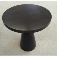 China Small Hotel Wooden Dining Room Tables , Wood Top Round Breakfast Table on sale