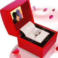 China Sell Multimedia/Digital Jewelry Box/Ring Box on sale