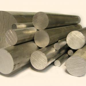China Transportation Solid Aluminum Bar , Aviation Construction Polished Aluminum Rod on sale