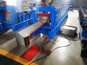 China Angle Shape Metal 400mm Ridge Cap Roll Forming Machine on sale