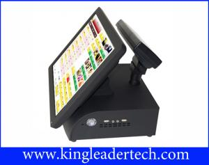 China All In One Red POS / Cash Register Touch Terminal For Dining And Pizzeria on sale