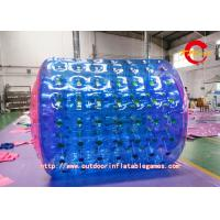 Double Layer Inflatable Zorb Ball Heat Sealed PVC / TPU Production