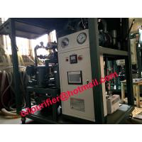 Transformer Oil Reclaimation Plant with chemical regeneration tank,digital flow meter, decolor oil