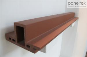 China Triangular Form Terracotta Baguette System, Architectural Sunshade Louvers on sale