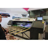 Outdoor Roll To Roll Printer , Double Lamps LED UV Printer With DX5 / DX7 Epson Printing Heads