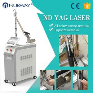 China Long life use high end quality Korea arm imported Q switch Nd Yag Laser Tattoo Removal Machine on sale
