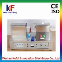 manual hand plastic soft tube sealing printing machine
