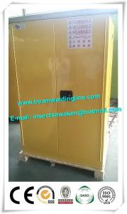 China Manual Close Door Safety Cabinets For Flammables And Combustibles In Yellow on sale
