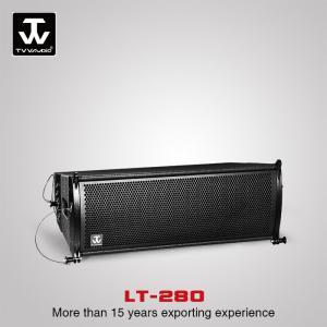 China Line Array Speaker@ Active Passive 2-way Full Range Vertical Outdoor Powered Subwoofer Line Array Speaker Box  LT-280 on sale