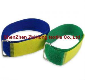 China Adjustable stainless steel buckle hook loop cable bundles on sale