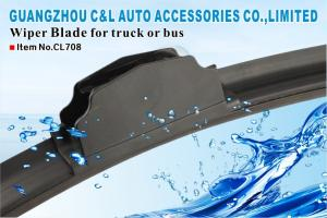 Easy Install Spare Parts Bus Wiper Blade From 300 MM To