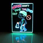 Conseil d'écriture fluorescent de LED (NOUVEAU)