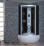 MSD-6015 high quality showeroom family hotel toilet washing room aluminum glass economical