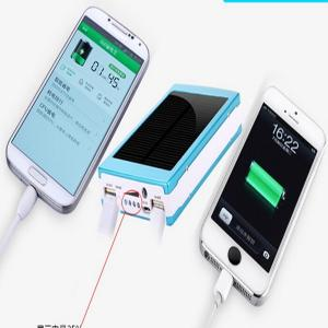 China 15000mAh solar power bank rohs solar cell phone charger portable solar charger for mobile phone on sale