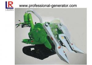 China 10HP Mini Combine Rice Agriculture Harvester with 178F Diesel Engine , Gear Drive Type on sale