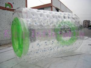 China Outdoor Rolling Commercial Inflatable Water Toy , Rolling Balls 2.8m Long * 2.4m Dia on sale