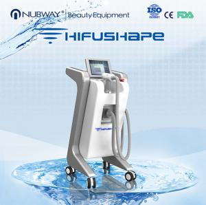 China 2017 new technology fast slimming Nubway HIFU high intensity focused ultrasound fat reduction machine on sale