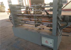 China Automatic Wire Coiling Machine , 60m/min Gabion Wire Mesh Machine PLC Control on sale