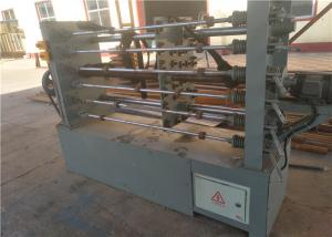 China Fully Automatic Wire Coiling Machine , Gabion Wire Mesh Machine PLC Control on sale