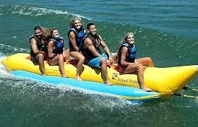 China Inflatable Banana Boat BB04 for 5 persons - Towable Water Sled  on sale