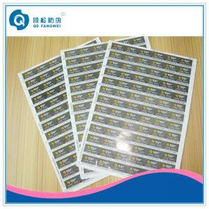China Printed Self Adhesive Labels , Household / Industry / Chemicals Stickers on sale