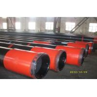 China OCTG API J55 Oil Casing Pipe With Black Painting 5m - 12m Heat Extrusion on sale
