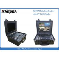 China Briefcase Portable COFDM Receiver Wireless Radio with Remote Control 4 Channels on sale