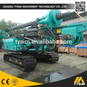 China Reliable 320D Excavator Chassis KR125C Pile Boring Machine , Borehole Drilling Machine on sale