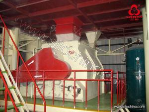 China 1-30TPH Automatic  Animal Pellet Feed mill Line for Mash feed and Pellet Feed on sale