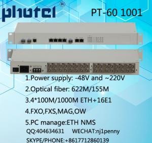 China 155M OPTICAL FIBER BACKUP +4E1+4ETH PDH equipment on sale