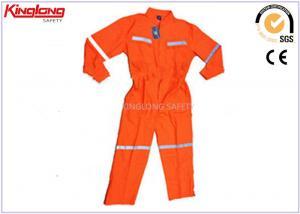 China Altos guardapolvos de la visibilidad del poliéster/del algodón S-5XL con la cinta reflexiva on sale
