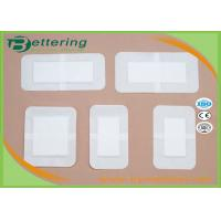 Hypoallergenic Medical Wound Dressing Bandage , First Aid Plaster Wound Care Pad