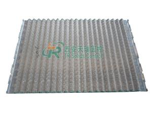 China Composite API Shale Shaker Screen , Oil Vibrating Sieving Mesh With Simple Structure on sale