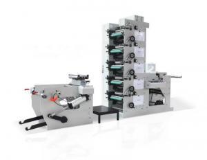 China Paper Cardboard Adhesive Flexo Printing Press , Flexographic Printing Equipment Simulation EPC on sale
