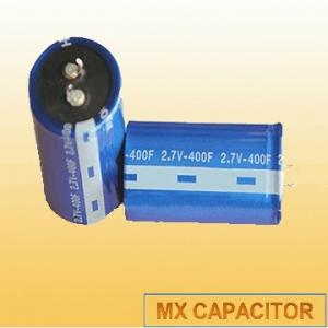 China 2.3V 300F Snap in Super Capacitor,Snap in Ultra Capacitor 2.3V 300F,Gold Capacitor Snap in on sale