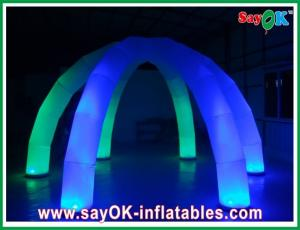 China UL Certificated Blower Inflatable Led Light Tent Diameter 5m For Party on sale