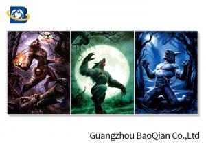China Flipped Efect 3d Lenticular Picture Posters With Monster / Religion , Home Decoration Pieces on sale