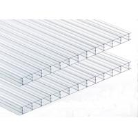 China Noise Barrier Triple Wall Polycarbonate Panels, Clear Polycarbonate Roofing Sheet on sale