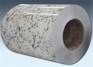 China Cold Rolled Laminated PET Film Metal Sheet Coated Aluminum Width 1350 mm on sale