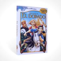 The Road to El Dorado disney dvd movie children carton dvd with slipcover free shipping