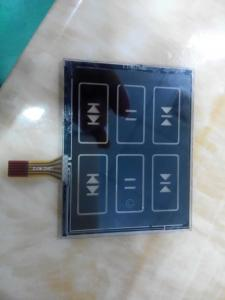 China 4 Waterproof Membrane Touch Switch Panel on sale