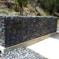 China Gabion Baskets|8x10 Double Twisted Hexagonal Steel Mesh Customized Size on sale